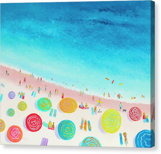 Dreaming Of Sun, Sand And Sea Canvas Print