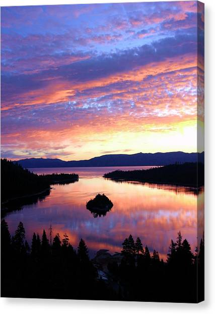 Canvas Print featuring the photograph Dreaming Of Sunrise by Sean Sarsfield