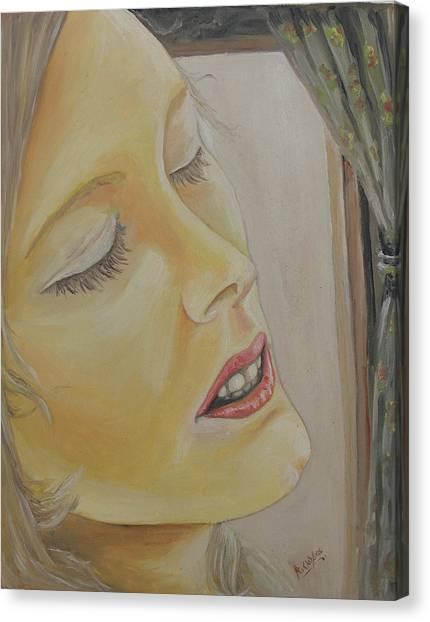Dreaming Canvas Print by Rajesh Chopra