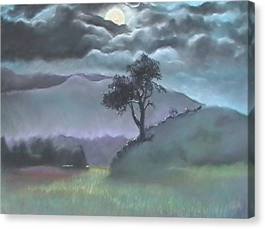 Dreaming Tree Canvas Print by Beth Okonczak