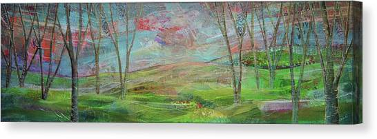 Michigan Canvas Print - Dreaming Trees by Shadia Derbyshire