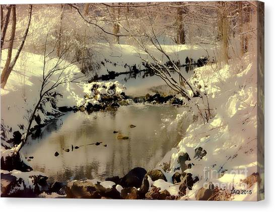 Dreams Come To Light Canvas Print