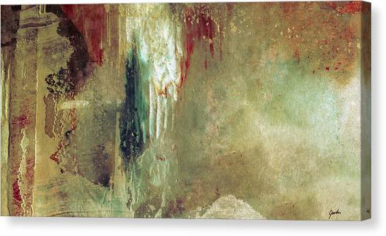Dreams Come True - Earth Tone Art - Contemporary Pastel Color Abstract Painting Canvas Print