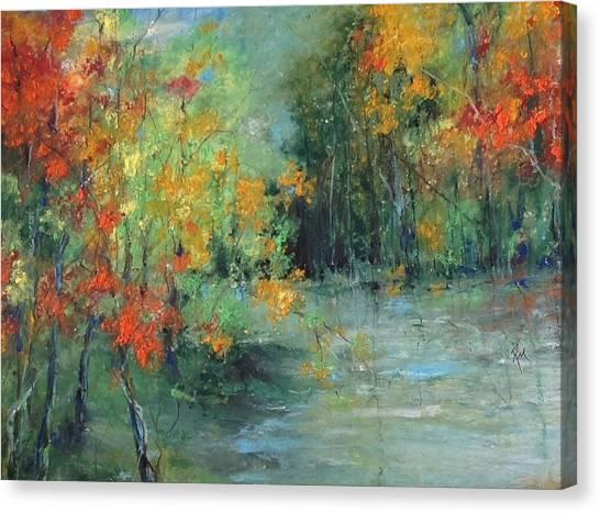 Dreams Of Autumn #1 Paradise On Pontchartrain Canvas Print
