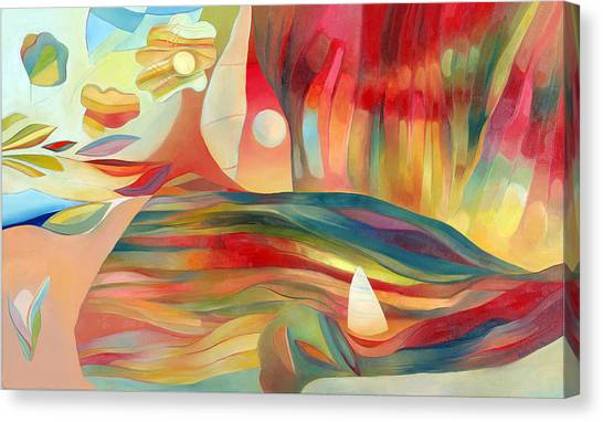 Canvas Print featuring the painting Dreams Of Cuba by Linda Cull