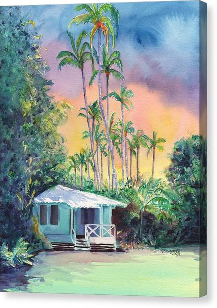 Islands Canvas Print - Dreams Of Kauai by Marionette Taboniar