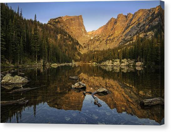 Luminous Body Canvas Print - Dreams by Expressive Landscapes Fine Art Photography by Thom