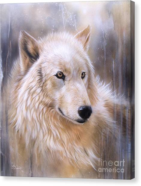 Dreamscape - Wolf II Canvas Print