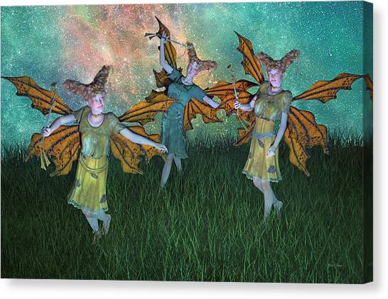 Sprite Canvas Print - Dreamscape by Betsy Knapp