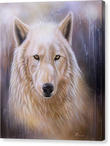 Dreamscape Wolf IIi Canvas Print