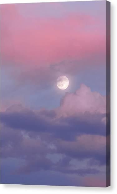 Full Moon Canvas Print - Dreamy by Chad Dutson