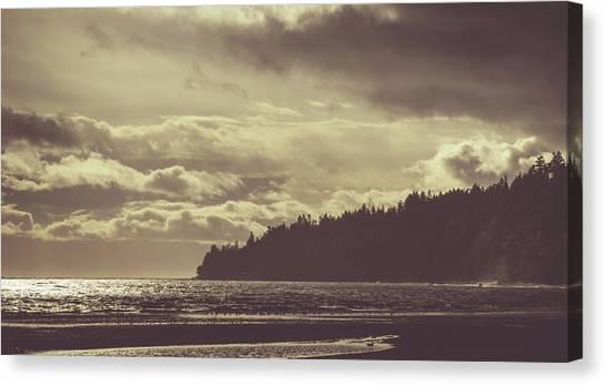 Dreamy Coastline Canvas Print