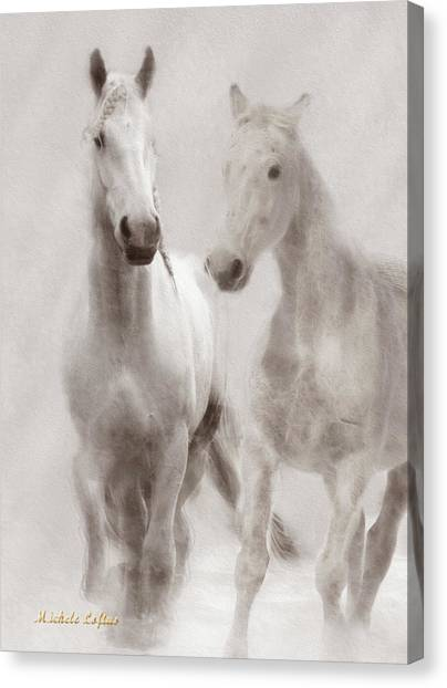 Dreamy Horses Canvas Print