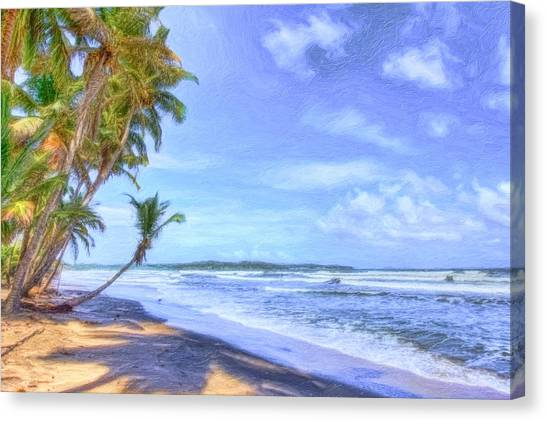 Dreamy Manzanilla Canvas Print