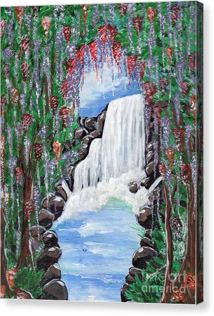 Dreamy Waterfall Canvas Print
