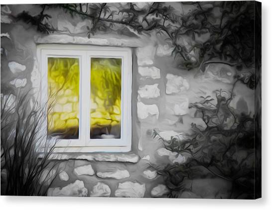 Dreamy Window Canvas Print