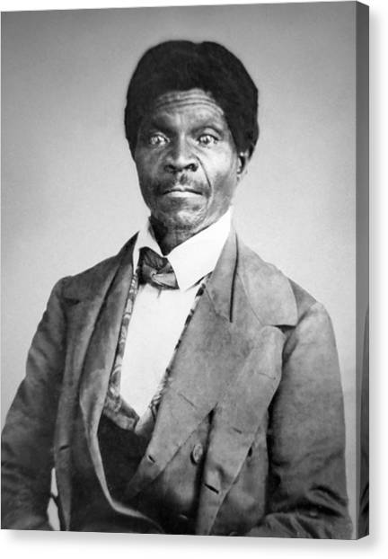 Slavery Canvas Print - Dred Scott by War Is Hell Store