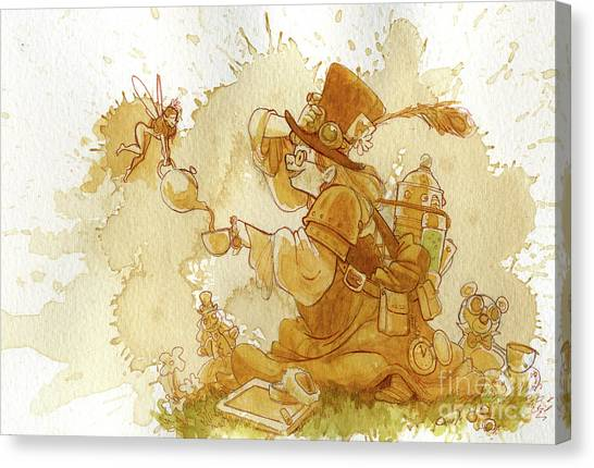 Fairy Canvas Print - Dress Up by Brian Kesinger