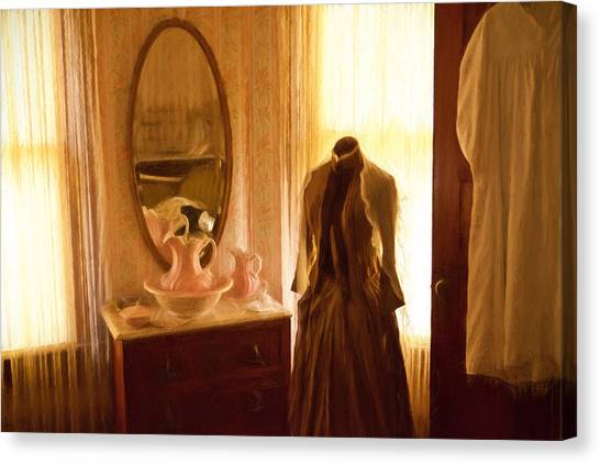 Dressing Room Canvas Print