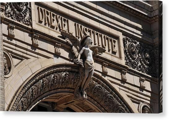 Drexel University Canvas Print - Drexel Institute - Philadelphia Pa by Bill Cannon