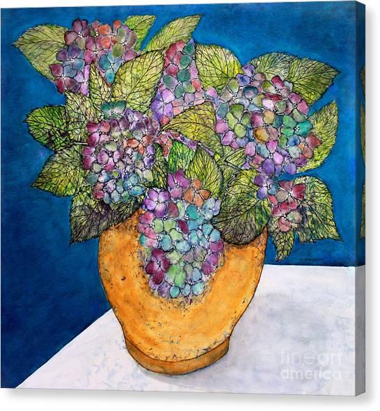Dried Hydrangea Canvas Print