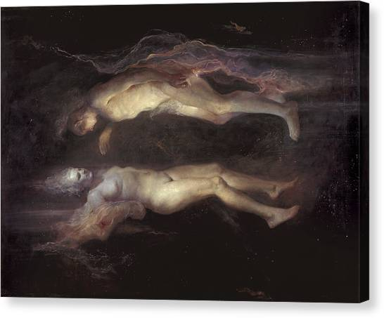 Baroque Art Canvas Print - Drifting by Odd Nerdrum