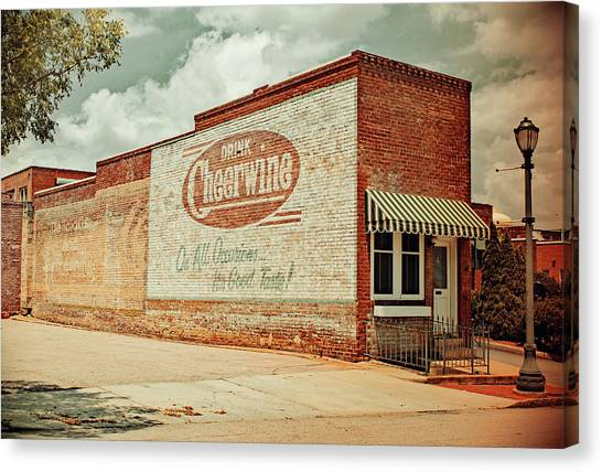 Cheerwine Canvas Print - Drink Cheerwine Vintage 10 by Joseph C Hinson Photography
