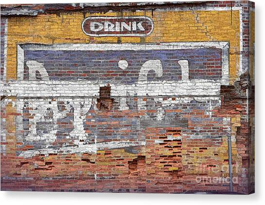 Drink Pepsi Cola Canvas Print