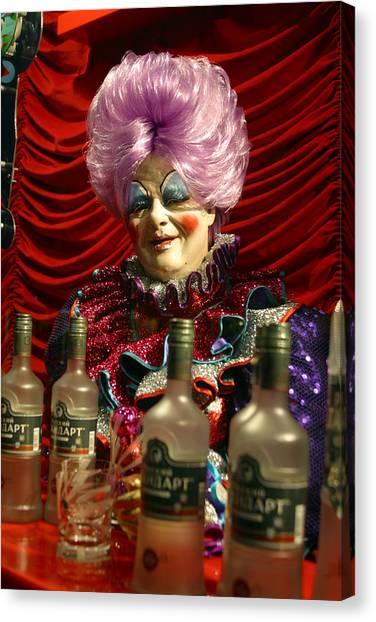Drink Sir Maam Canvas Print by Jez C Self