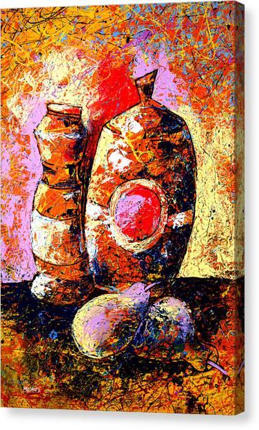Dripx 82 Canvas Print