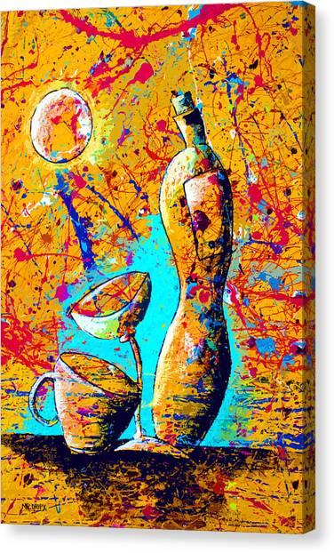 Dripx 75 Canvas Print