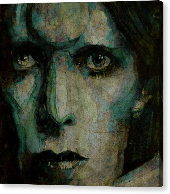 David Bowie Canvas Print - Drive In Saturday@ 2 by Paul Lovering