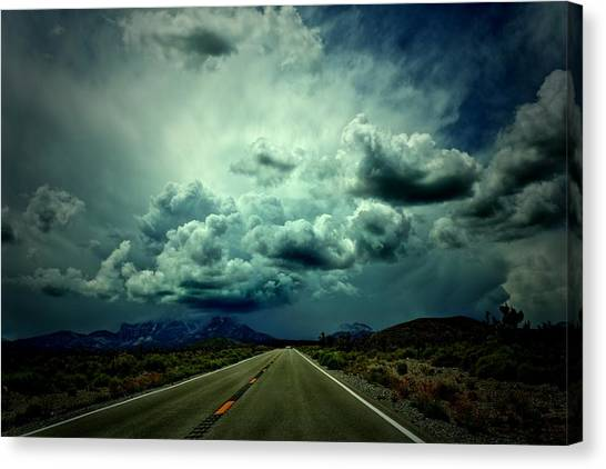 Drive On Canvas Print