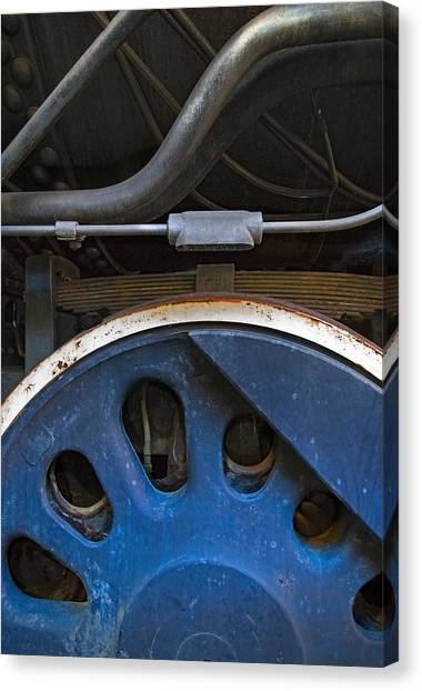 Canvas Print - Driver And Pipes by Murray Bloom
