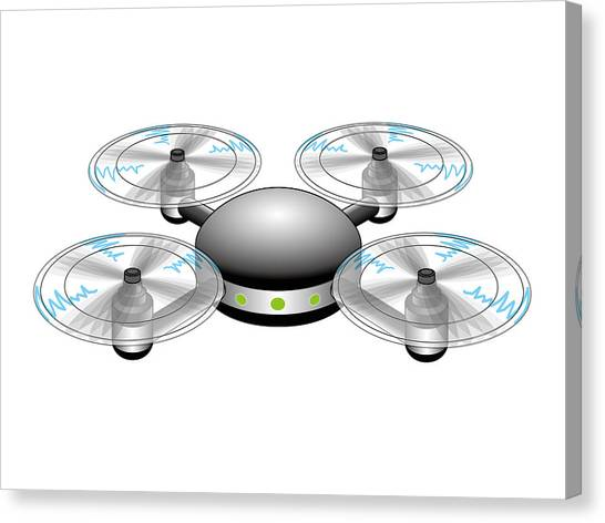Canvas Print - Drone by Moto-hal