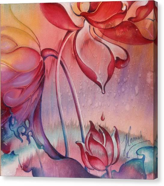 Drop Of Love Canvas Print