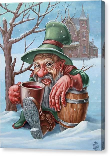 Drunkard Canvas Print