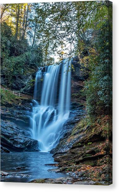 Dry Falls From The Base Canvas Print