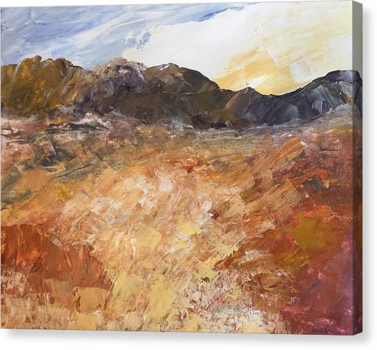 Dry River Canvas Print
