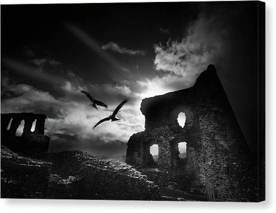 Dryslwyn Castle 3b Canvas Print