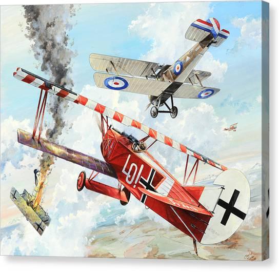 Luftwaffe Canvas Print - Du Doch Nicht by Charles Taylor