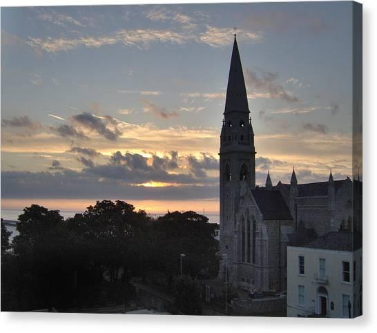 Dublin Sunset Canvas Print