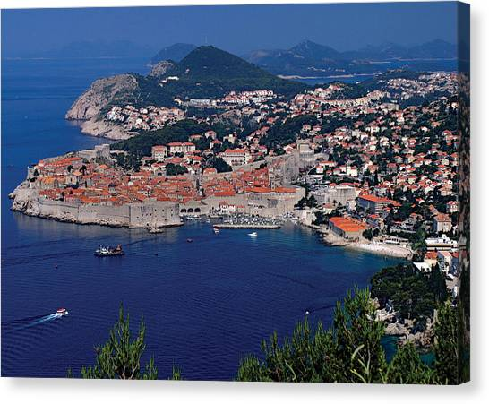 Dubrovnik Croatia Canvas Print by Don Wolf