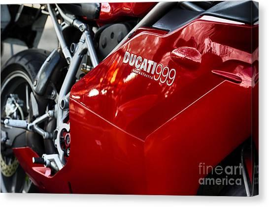 999 Canvas Print   Ducati 999 Testastretta By Tim Gainey