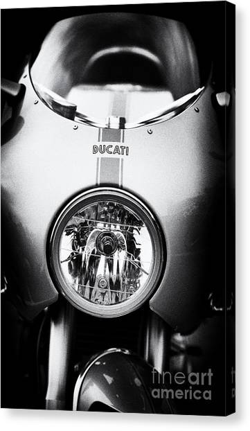 Ducati Ps1000le Canvas Print by Tim Gainey