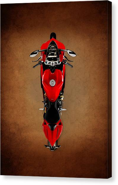Ducati Canvas Print - Ducati The Art Of The Motorcycle by Mark Rogan
