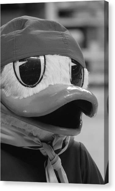 Ducking Around Canvas Print