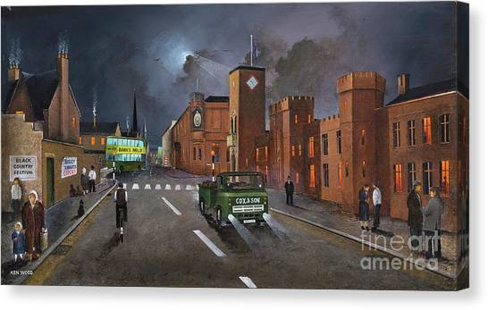 Dudley, Capital Of The Black Country Canvas Print