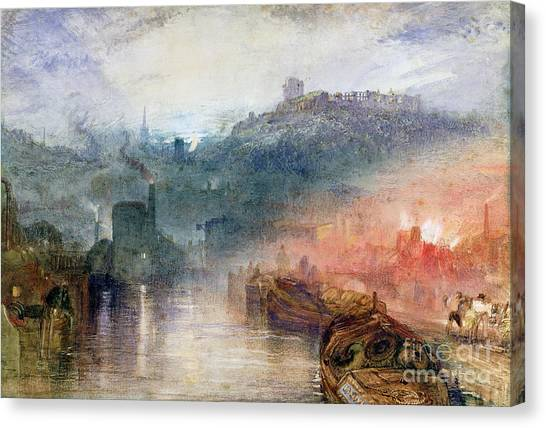Mills Canvas Print - Dudley by Joseph Mallord William Turner