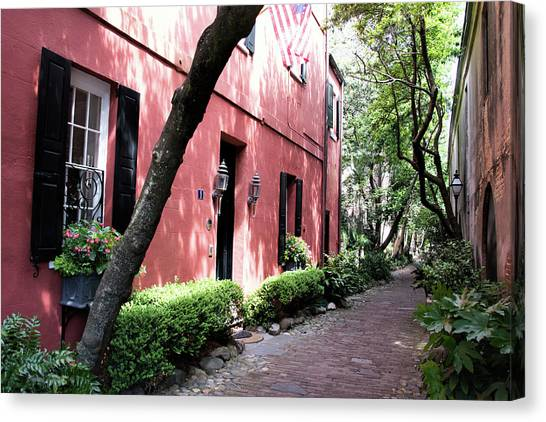 Dueler's Alley Canvas Print